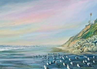 kengoldmanfineart-Solana Beach-Acrylic-36x48 - SOLD - Giclees Available