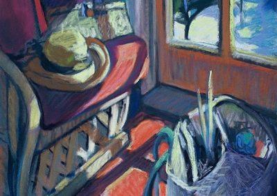 kengoldmanfineart-Interior Landscape-Pastel-20x16- SOLD