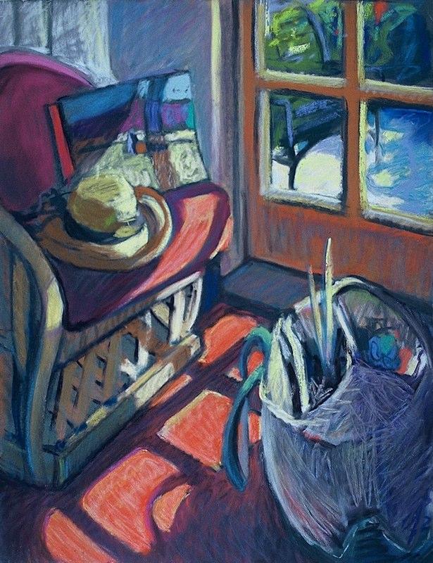 Ken_Goldman-Interior Landscape-Pastel-20x16- SOLD