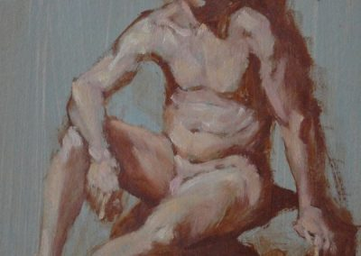 stephaniegoldmanfineart-Figure-Study-Male-Oil-10x8