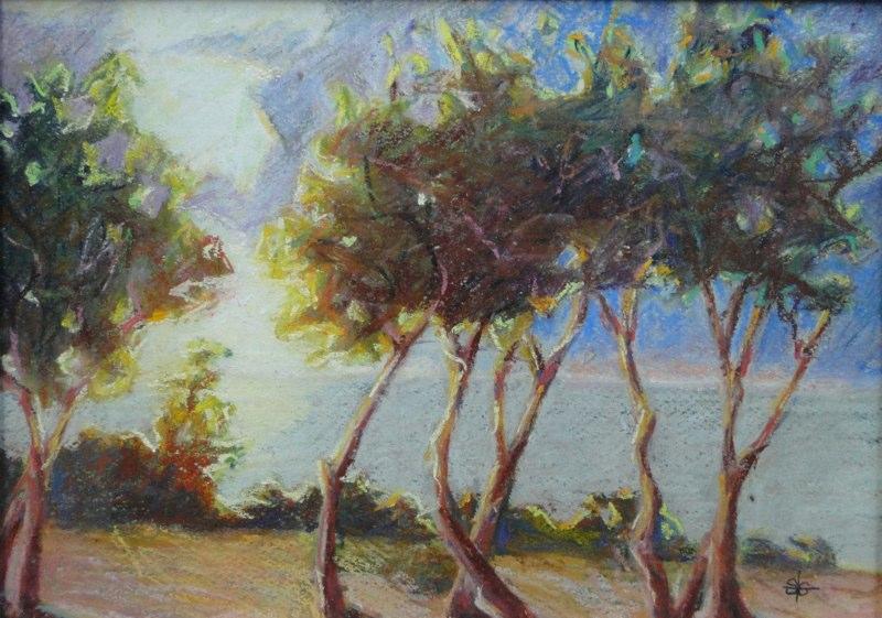Stephanie_Goldman-Tavarua-Sunset-Pastel-10x14