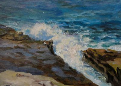 stephaniegoldmanfineart-La-Jolla-Covel-Oil-10x12