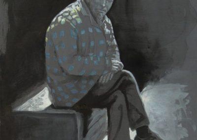 stephaniegoldmanfineart-Waiting-Watercolor-12x9