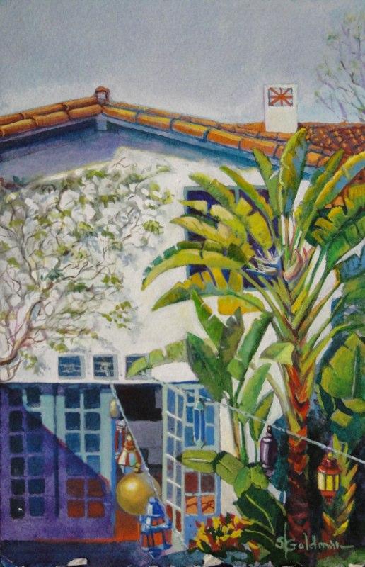 Stephanie_Goldman-LaCanada-Secret-Garden-Watercolor-11x7