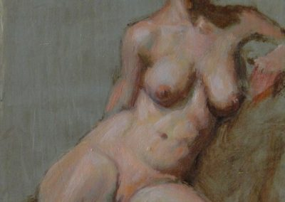 stephaniegoldmanfineart-Cardamon-Girl-Oil-7x5