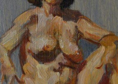 stephaniegoldmanfineart-Agate-Lady-Oil-6x4