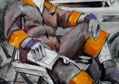 stephaniegoldmanfineart-The Mechanic-Acrylic-25x38