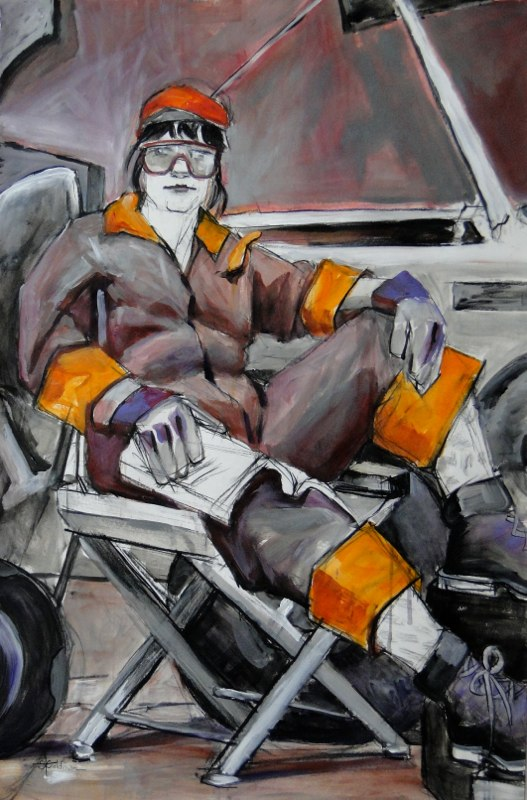 Stephanie_Goldman-The Mechanic-Acrylic-25x38