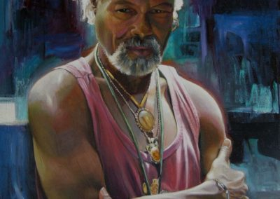 kengoldmanfineart-Pauolo Cristobal-Oil-40x30 - Giclee Available