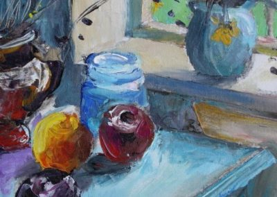 kengoldmanfineart-Backlit-Still Life 2-Acrylic-12x14 - SOLD - Giclees Available