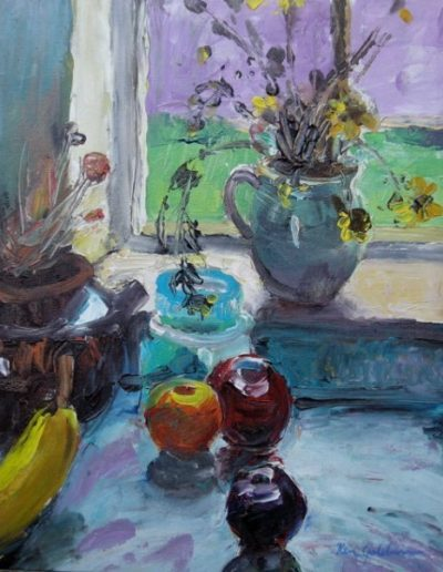 Ken_Goldman-Backlit Still Life 1-Acrylic-18x14 - SOLD - Giclees Available