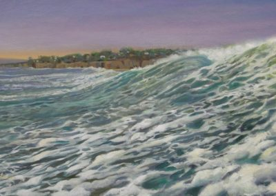 kengoldmanfineart-Surge-Oil-Landscape-18x24 SOLD - Giclee Available