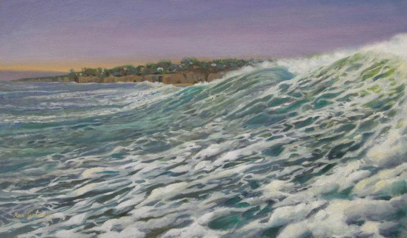 Ken-Goldmanfineart-Surge-Oil-Landscape-18x24 SOLD - Giclee Available