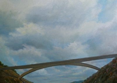kengoldmanfineart-Grand Arch-Oil-Landscape-36x36 - Giclee Available