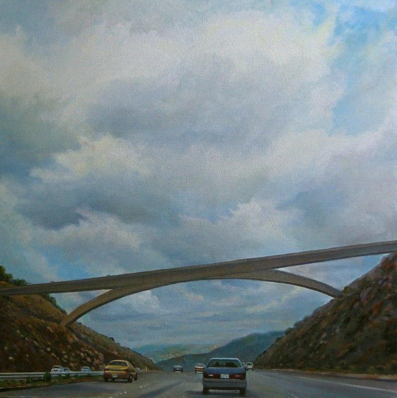 Ken-Goldman-Grand Arch-Oil-Landscape-36x36 - Giclee Available