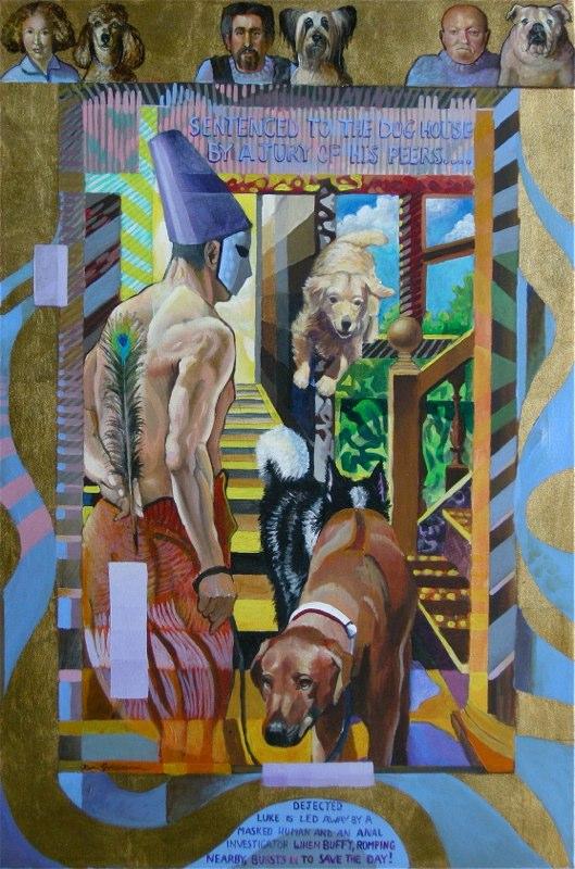 Ken Goldmanfineart-The Adventures of Luke-Acrylic-36x24
