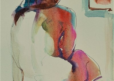 kengoldmanfineart-10 Minute Study-Watercolor-8x6 - SOLD