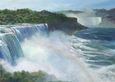 kengoldmanfineart-Niagara Falls-Acrylic-36x36