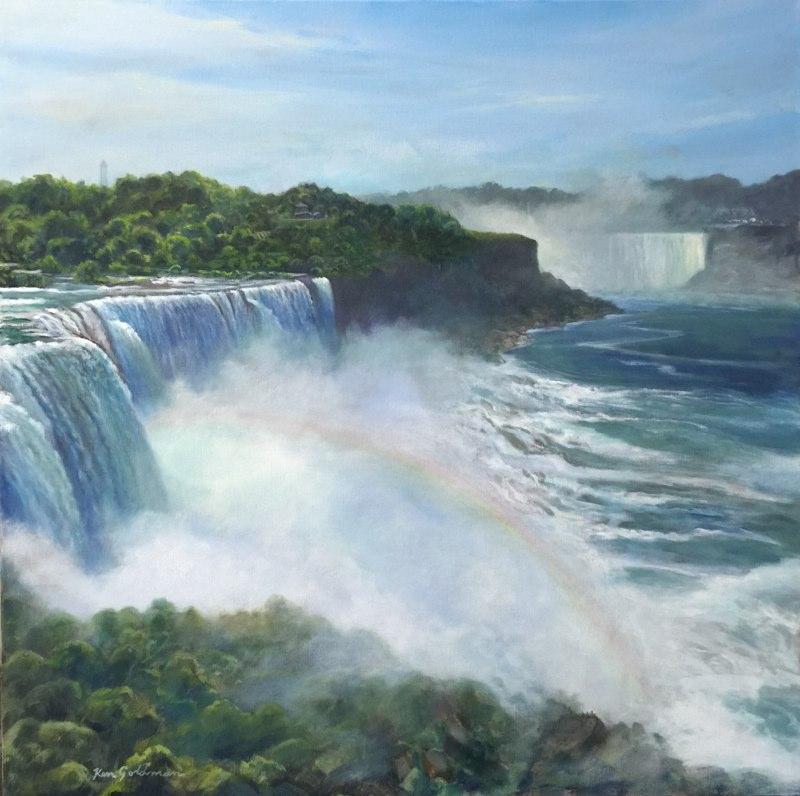 Ken_Goldman-Niagara-Falls-Acrylic-36x36