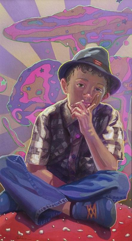 Stephanie_Goldman-The-Artist-Watercolor-18x10