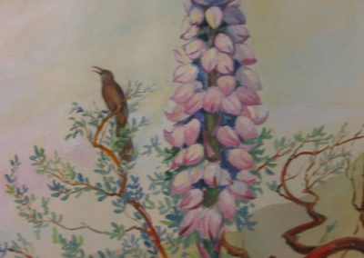 Goldmanfineart-Public Art Mural-Rancho La Puerta-Coyote Mural detail 03