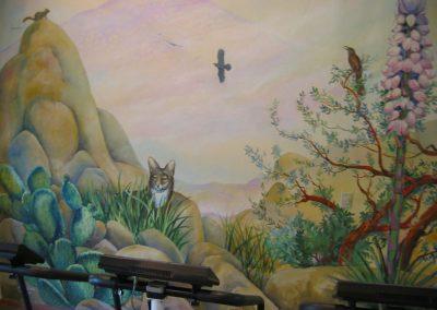 Goldmanfineart-Public Art Mural-Rancho La Puerta-Coyote Mural01