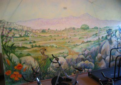 Goldmanfineart-Public Art Mural-Rancho La Puerta-Quail Mural 02