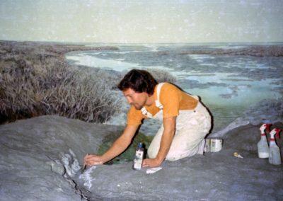 Goldmanfineart-Public Art Mural-San Diego Natural History Museum Famosa Slough Diorama_Ken Goldman 12