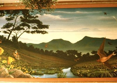 Goldmanfineart-Public Art Mural-Wildflowers Riparian Mural 06