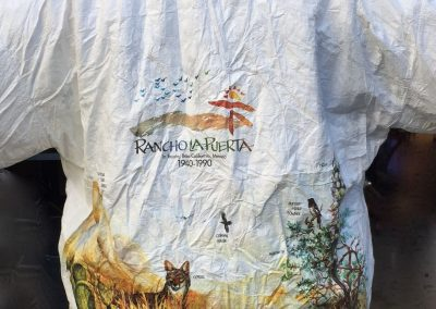 Goldmanfineart-Rancho La Puerta Jacket 50th Anniversary Tyvek Jacket Design4
