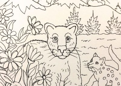 Goldmanfineart_Lucile Packard Children's Hospital_Coloring Book 01