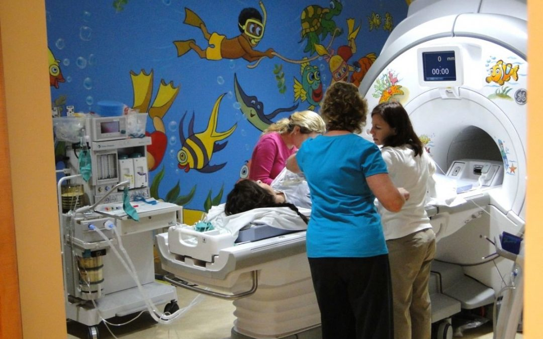 Rady Children's Hospital MRI Suite, San Diego CA