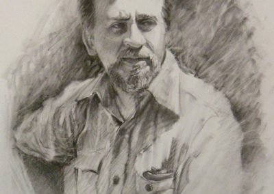 kengoldmanfineart-Whitson Family-Charcoal Drawing-14x11 - SOLD