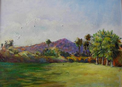 stephaniegoldmanfineart-Villas Lawn-Oil-12x9