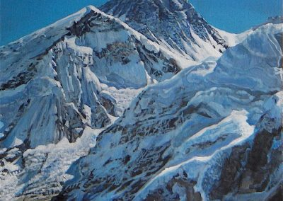 kengoldmanfineart-Himalayan Base Camp-Acrylic-24x18 - SOLD - Giclees Available