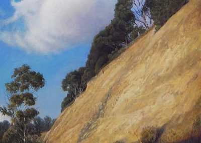 kengoldmanfineart-Slice of California-Oil-Landscape-36x36 - Giclee Available