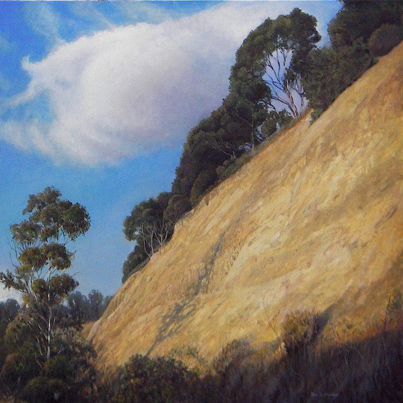Ken Goldman_Slice of California-Oil-Landscape-36x36 - Giclee Available