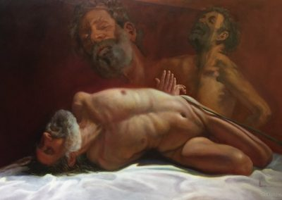 stephaniegoldmanfineart-Sacrifice-Oil-54x60