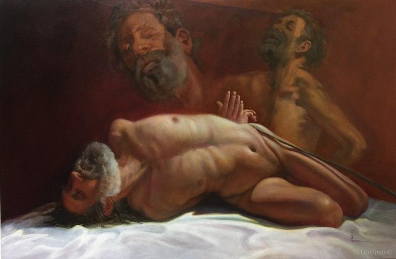 Stephanie Goldmanfineart-Sacrifice-Oil-54x60
