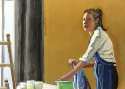 stephaniegoldmanfineart-Morning Light-Watercolor-8x8