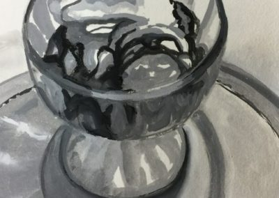 stephaniegoldmanfineart-Keller Sundae-Watercolor-9x6