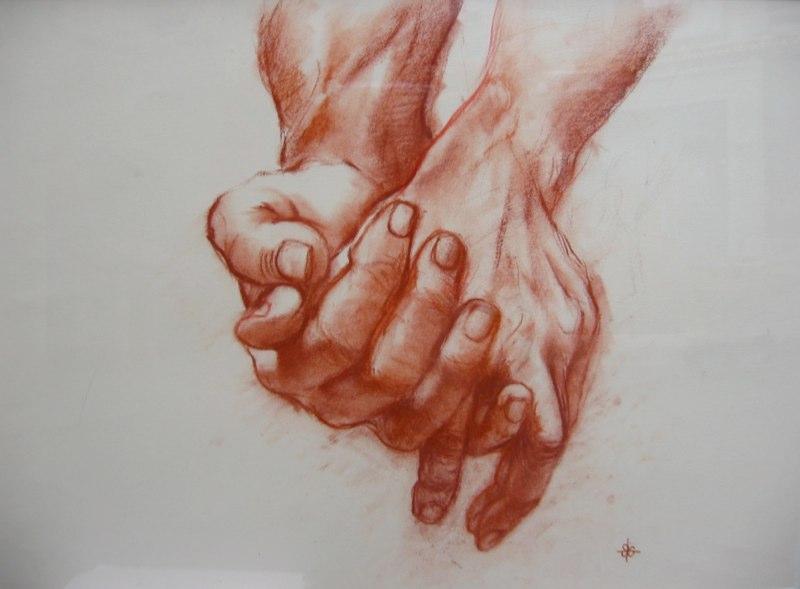 Stephanie_Goldman-Hands-Sanguine-Charcoal-Drawing-14x20