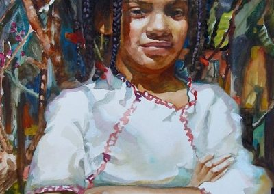 kengoldmanfineart-Sienna-Watercolor-22x15 - SOLD - Giclees Available