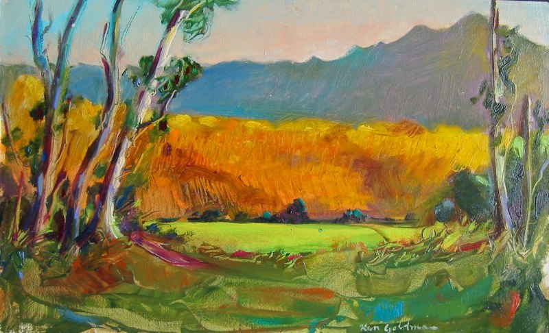 Ken-Goldmanfineart_Glow-Oil-Landscape-12x16