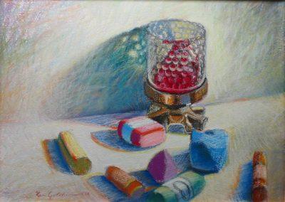 kengoldmanfineart-Pastel Candies-Pastel-11x14
