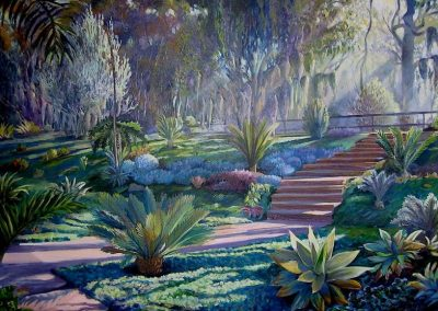 kengoldmanfineart-Succulent Garden-Oil-Landscape-36x48 - SOLD - Giclee Available