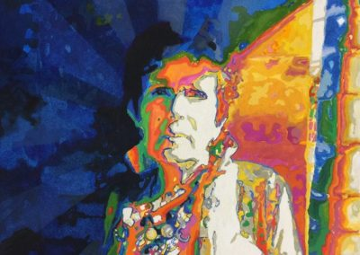stephaniegoldmanfineart-Majorelle-Watercolor-26x21