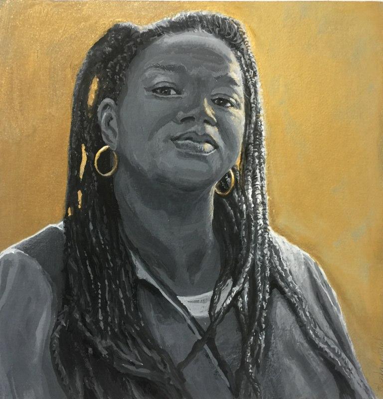 Stephanie_Goldman-Gold-Earings-Watercolor-9x9