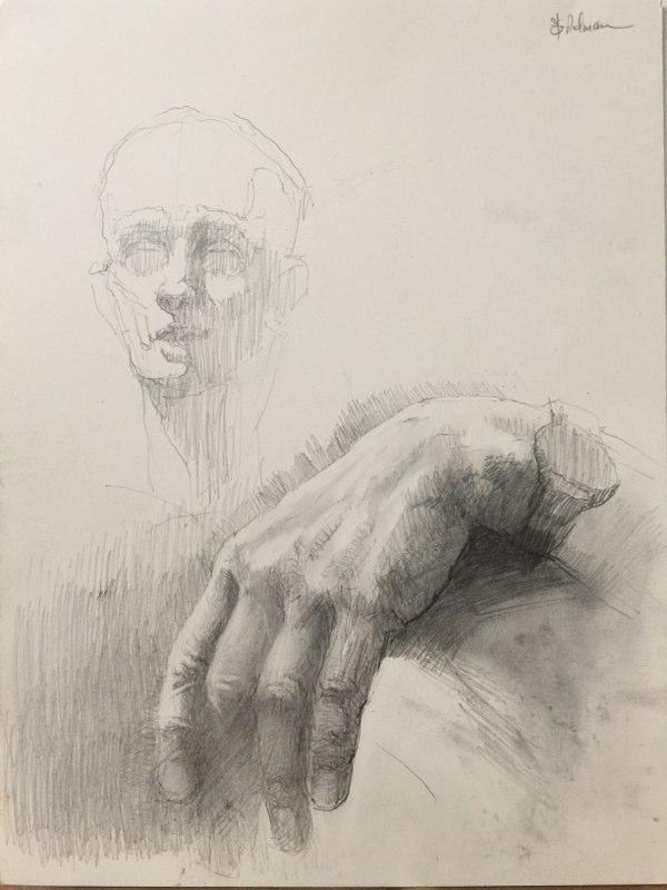 Stephanie_Goldman-Hand-Study-Graphite-Drawing-16x12