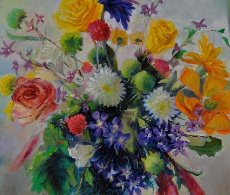 SUMMER WORKSHOP – Figure & Flower – Painting & Drawing – Stephanie Goldman – COMPLETE